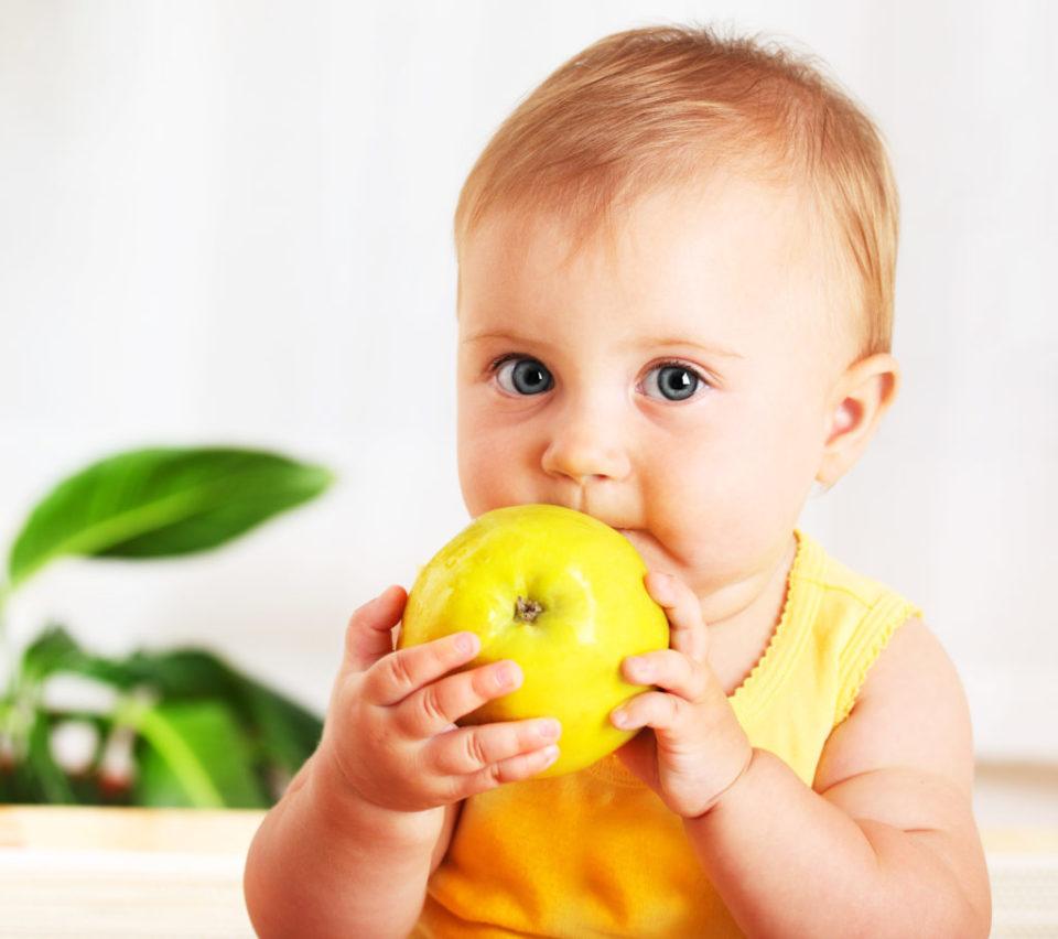 Прикорм ребенка 7 месяцев