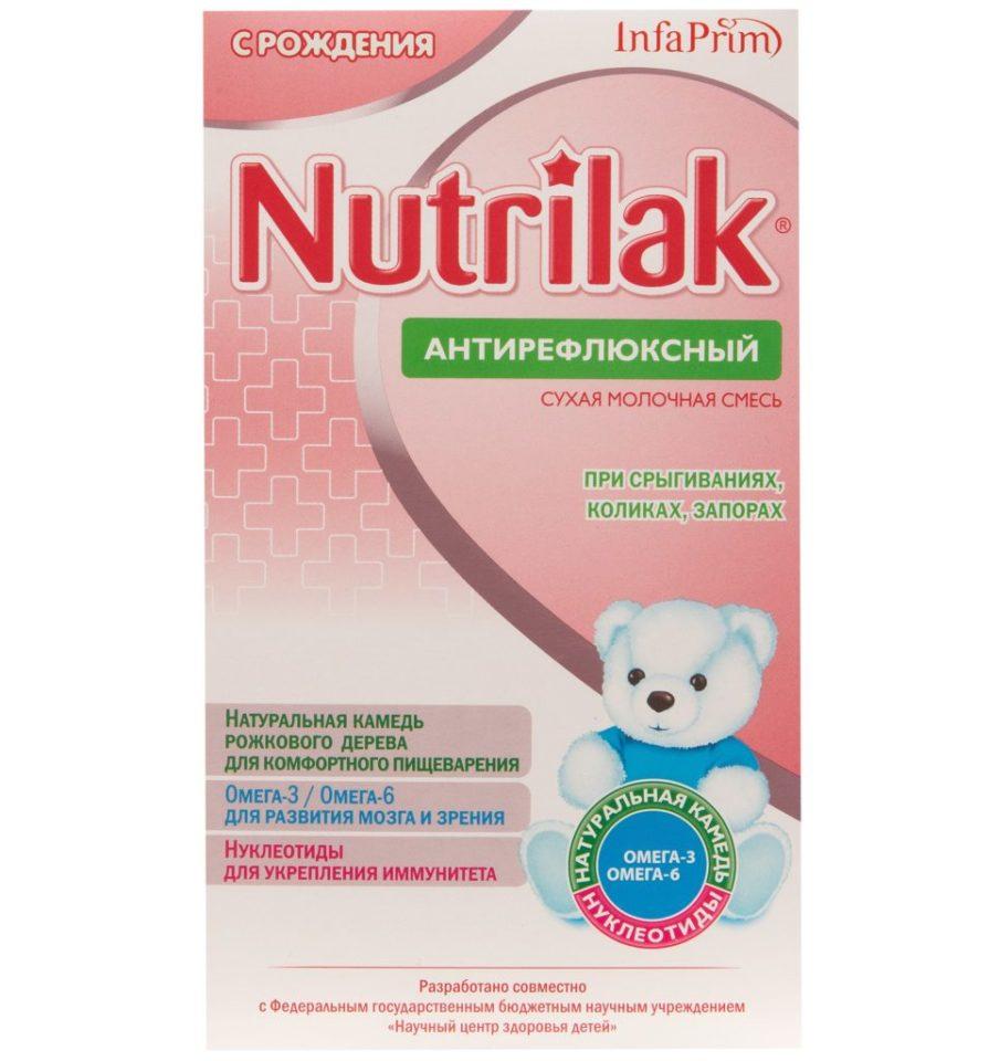 Антирефлюксная смесь Нутрилак – описание, состав