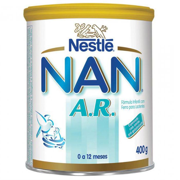 Антирефлюксная смесь Нан