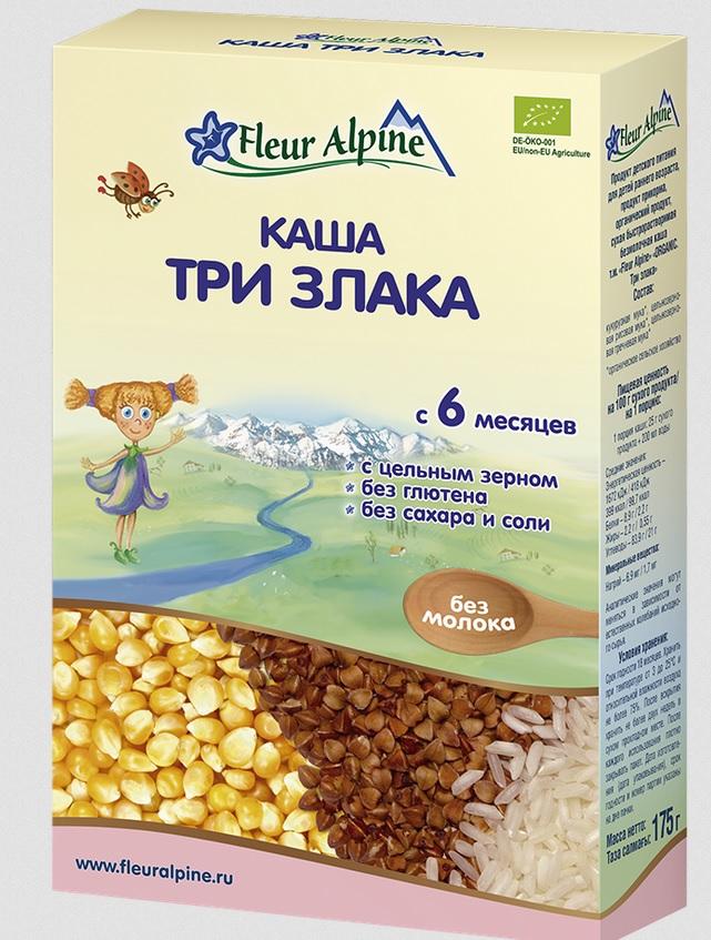 Каши «Флер Альпин» при аллергии на коровий белок