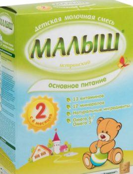 Детское питание «Малыш»: торговая марка и ассортимент