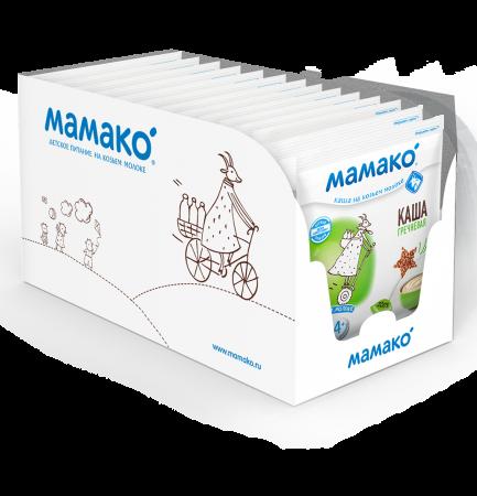 Каши «Мамако» с ягодами и фруктами — для продолжения прикорма