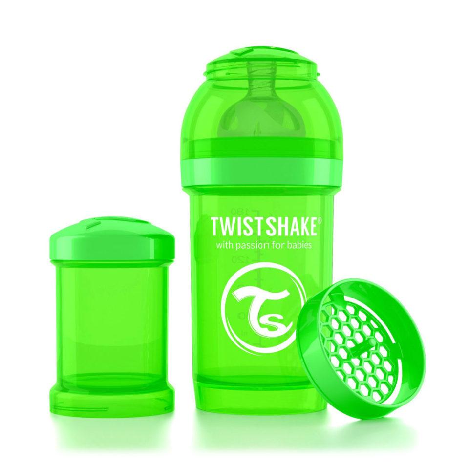 Антиколиковая бутылочка Тwistshake: обзор и особенности