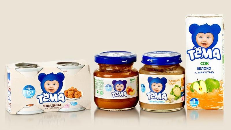 Детское питание «Тема»: история, ассортимент