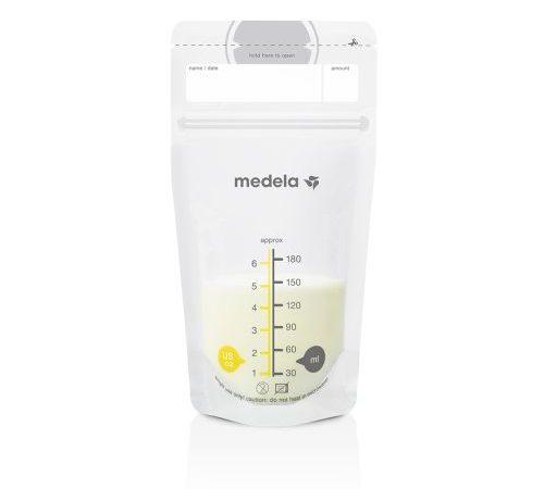 Пакеты Medela: хранение, замораживание и размораживание грудного молока