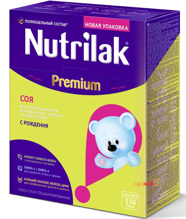 «Nutrilak Premium Соя»: описание, состав и особенности