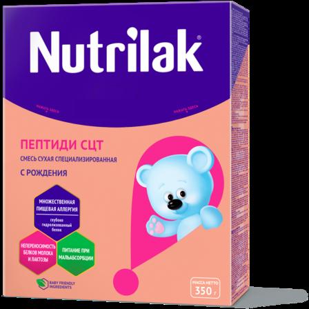 Nutrilak ПЕПТИДИ СЦТ: описание, состав, особенности