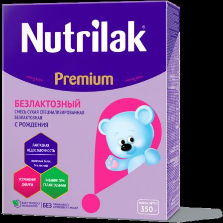 Nutrilak Premium Безлактозный: описание, состав и особенности