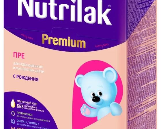«Nutrilak Pre»: описание, состав, особенности